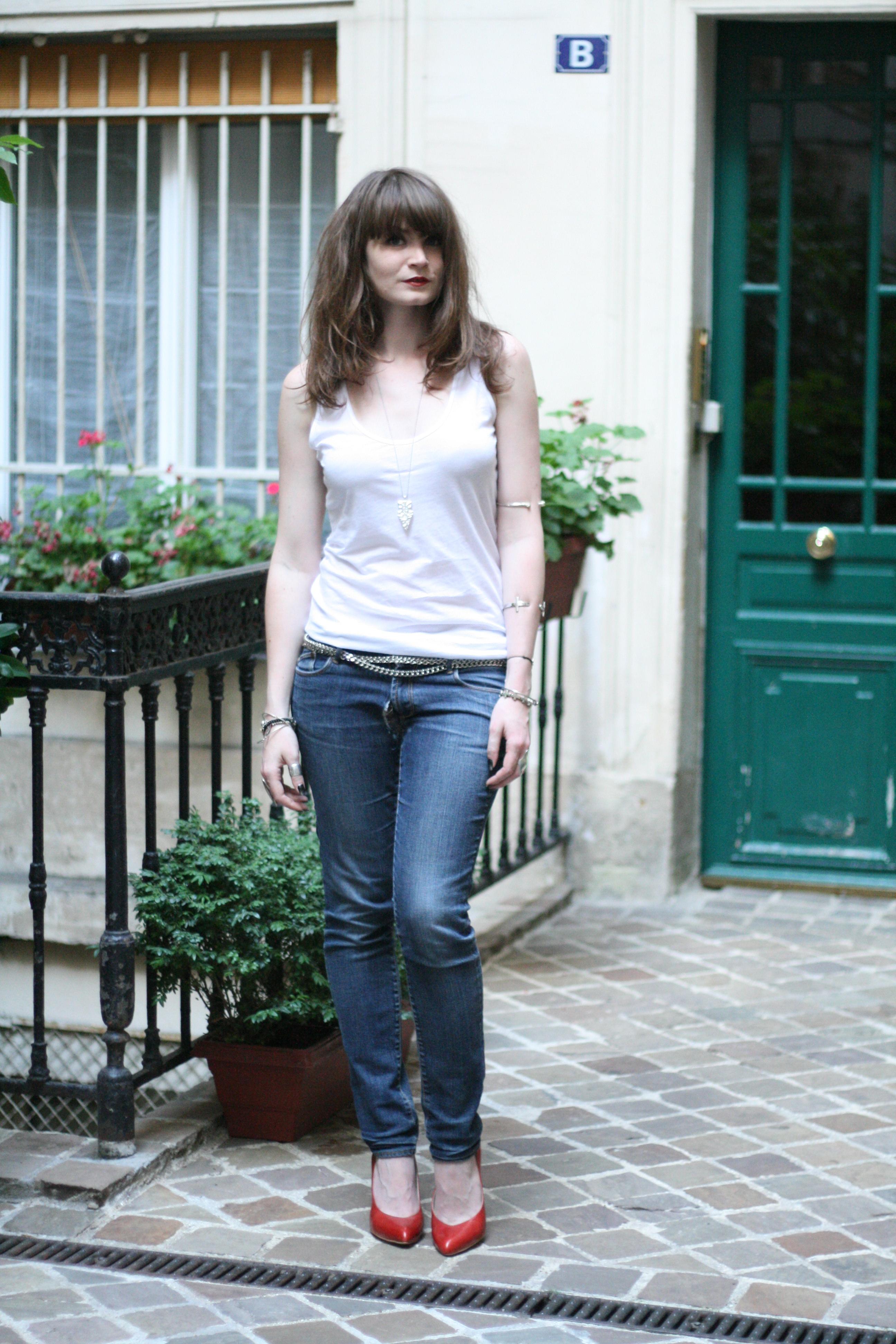 Septembre 2012 le blog mode de mahayanna page 4 - Tenue jean blanc ...