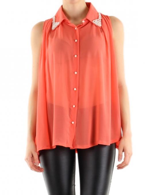 chemise corail