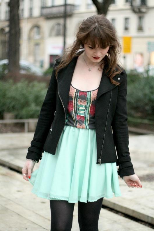 look vert noir