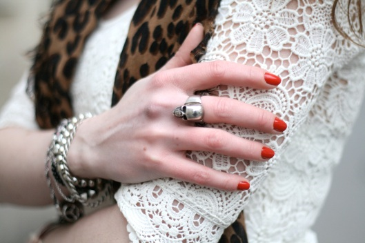 bague skull fashionology