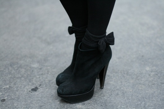 bottines Topshop daim