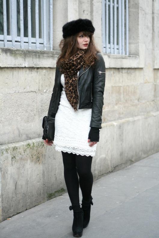 tenue robe dentelle perdecto