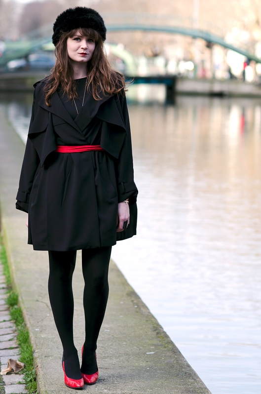 look manteau derhy trench