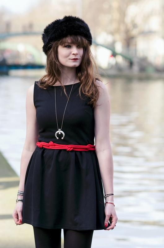 look noir rouge blog mode