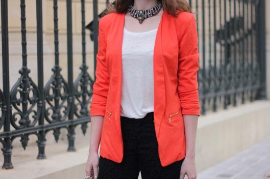 veste orange