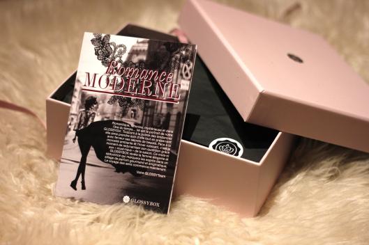 glossybox modern romance