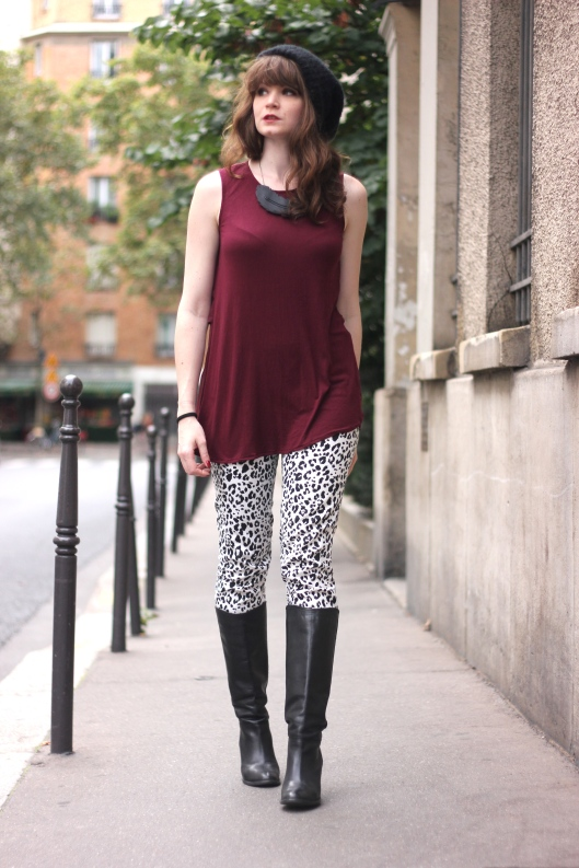 look slim leopard