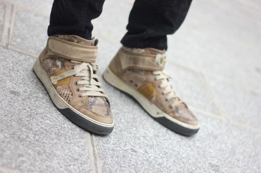 sneakers lanvin serpent