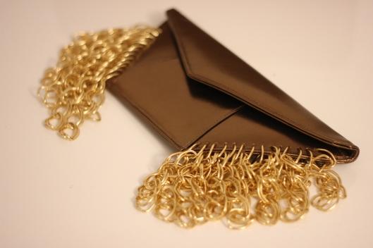 golden chain bag
