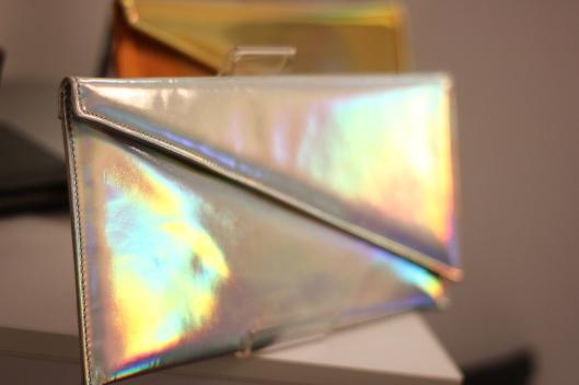 iridescent bag