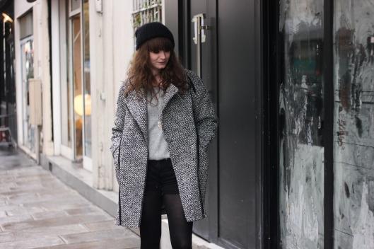 manteau perfecto chiné
