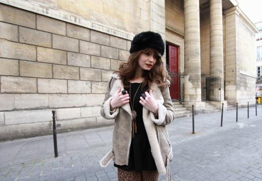 blog mode manteau peau