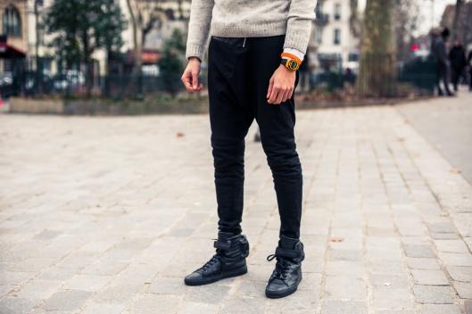 sarouel sneakers