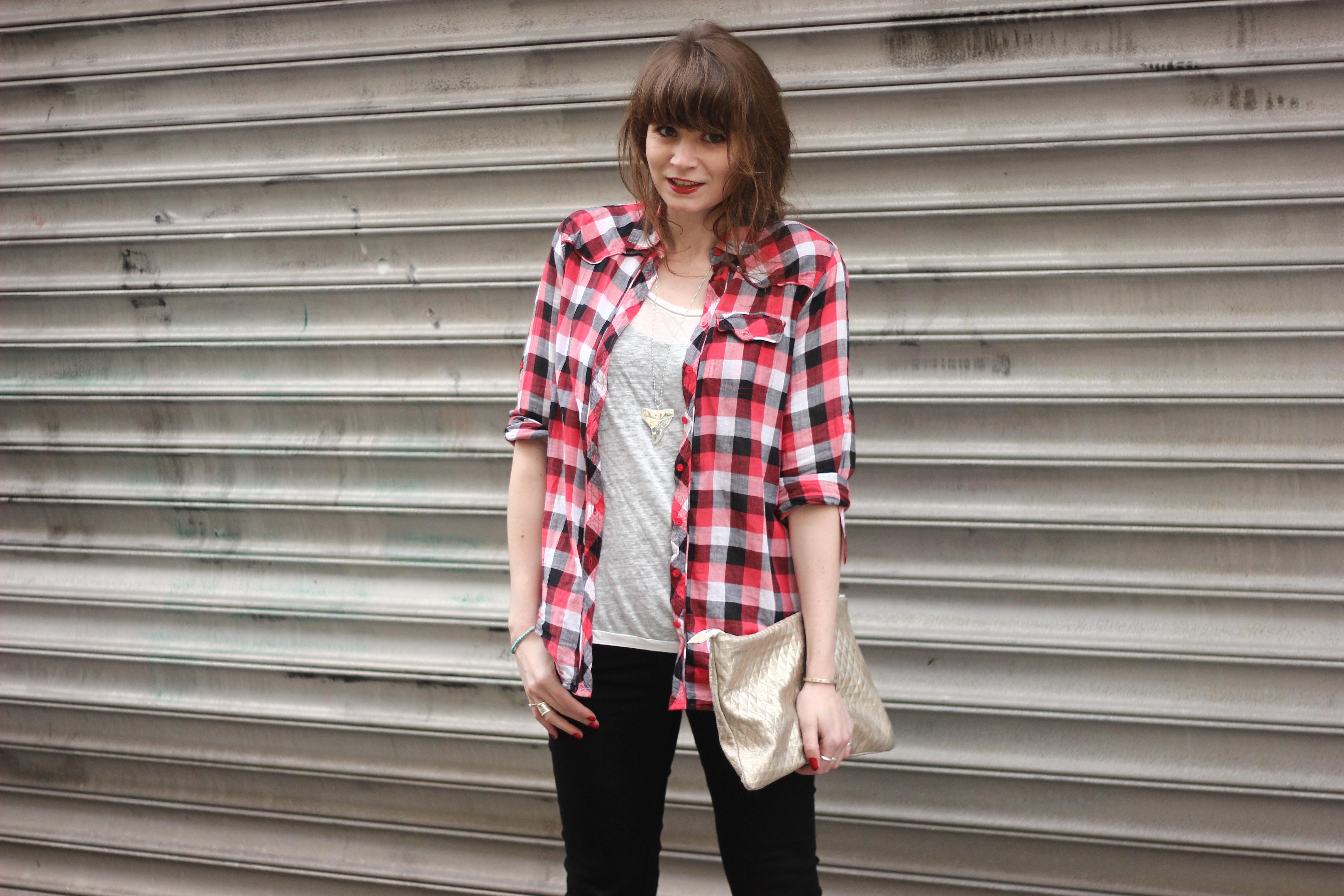 F vrier 2014 le blog mode de mahayanna - Mode carreaux ...