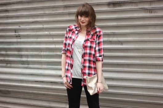 blog mode chemise carreaux