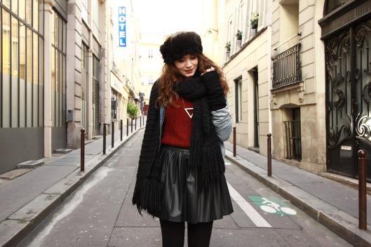 blog mode pull rouge