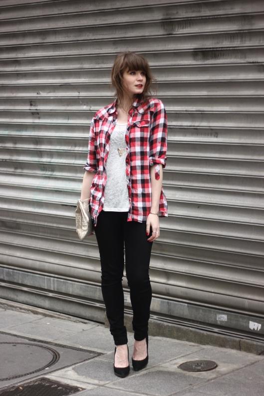 look blog chemise carreaux