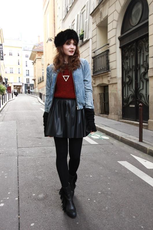 look blog jupe plissee
