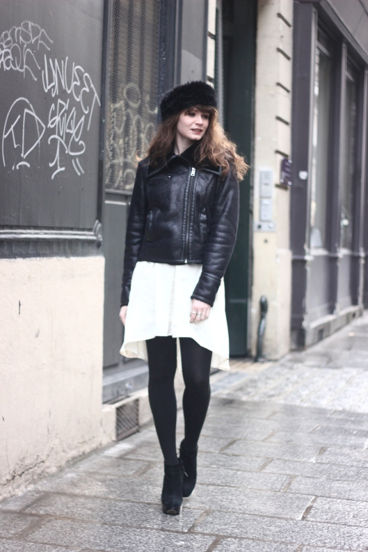 look blog robe blanche
