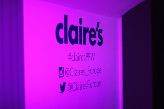 contact claire's