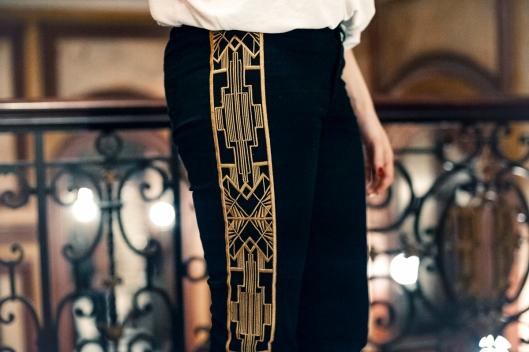 pantalon azteque