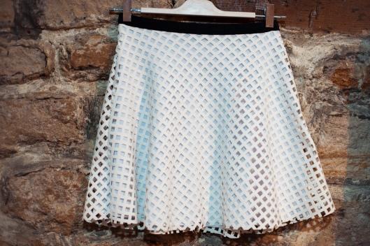 jupe géométrique