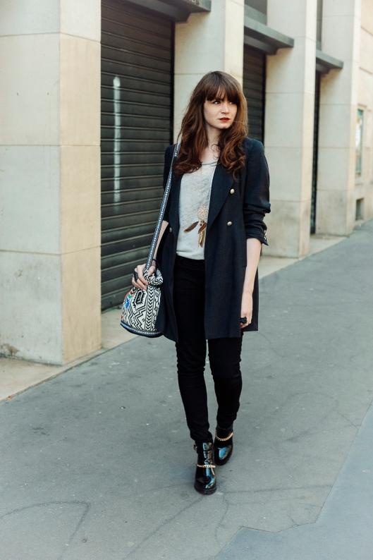 look noir gris blog