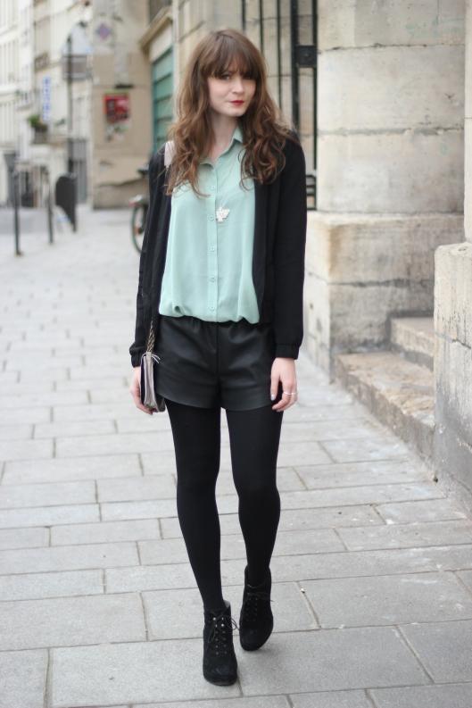 look noir vert