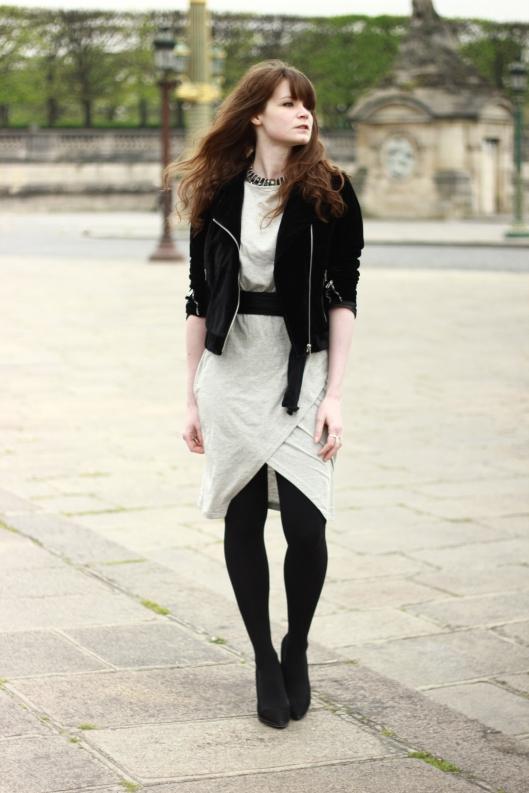 robe drapée blog