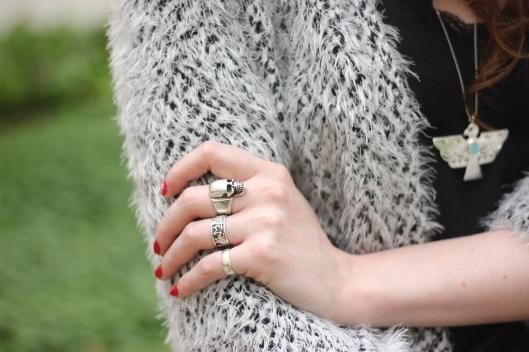skull silver ring blog