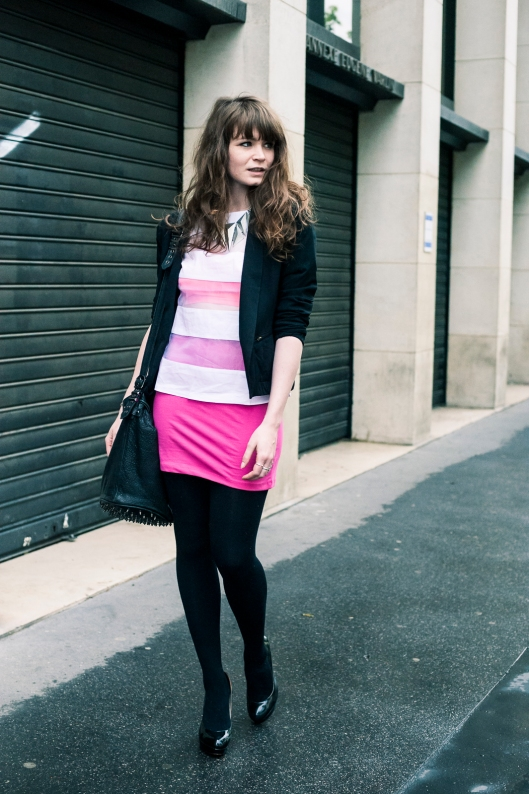look blog rose blanc