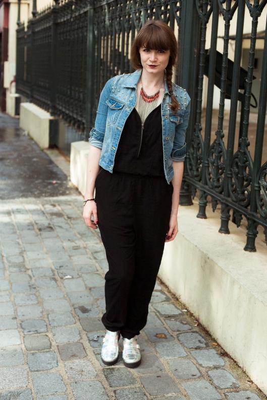 look combi veste jean