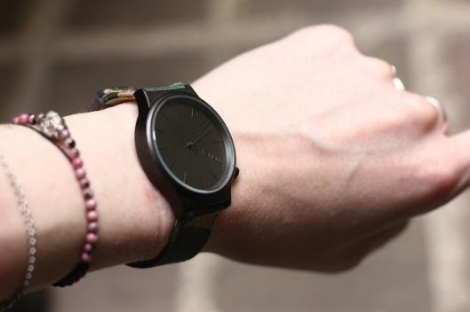 montre bracelet camouflage