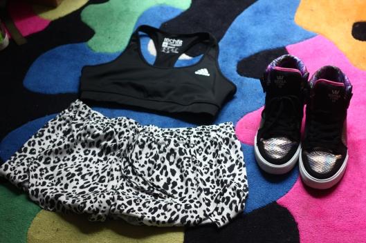 tenue fitness
