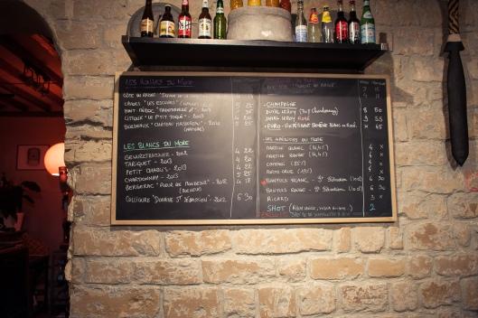 carte alcools more paris