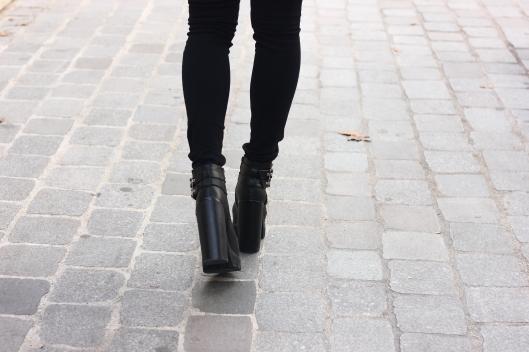 jambes talons hauts