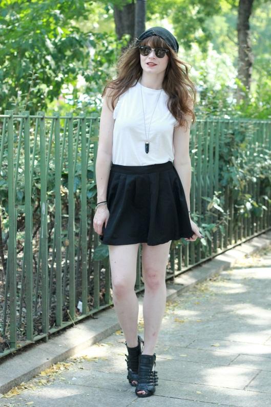 look jupe noire