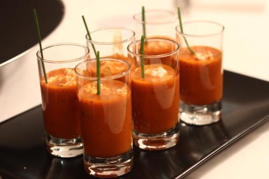 gaspacho poivrons
