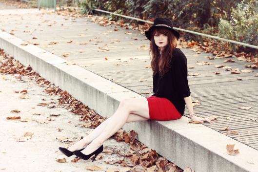 jupe rouge blog