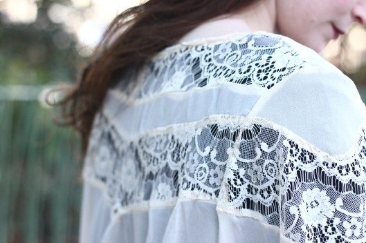 kimono dentelle