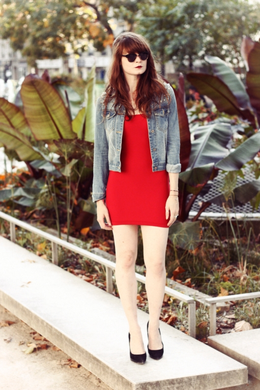 robe rouge blog