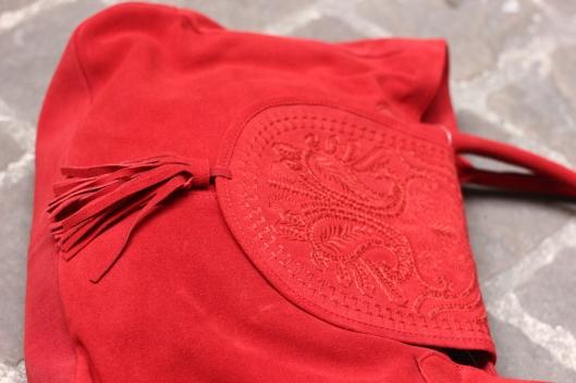 sac daim rouge