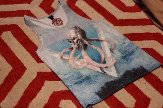 tee shirt pieuvre