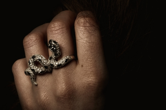 bague serpents