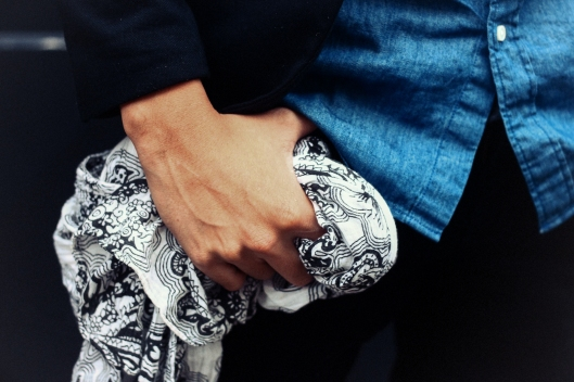 foulard cachemire