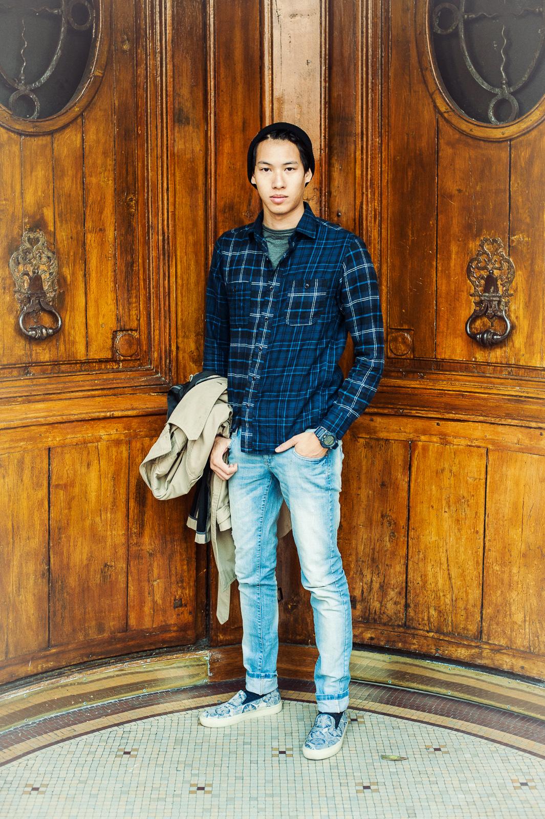 grandes marques couleurs et frappant design de qualité chemise homme uniqlo
