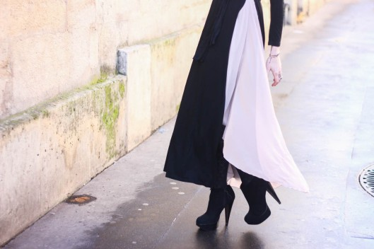 jupe bicolore