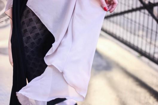 robe rose layette