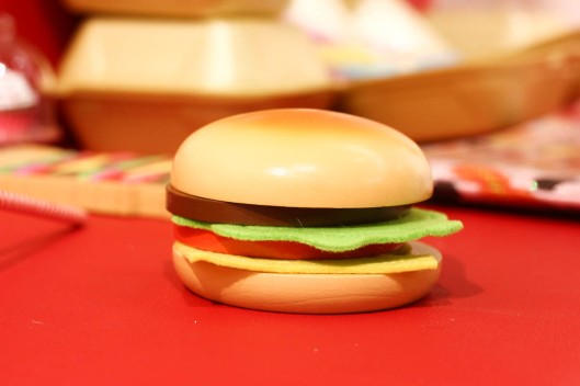 decoration hamburger