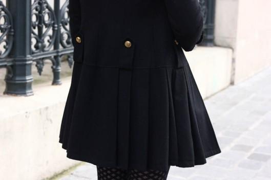 detail manteau officier